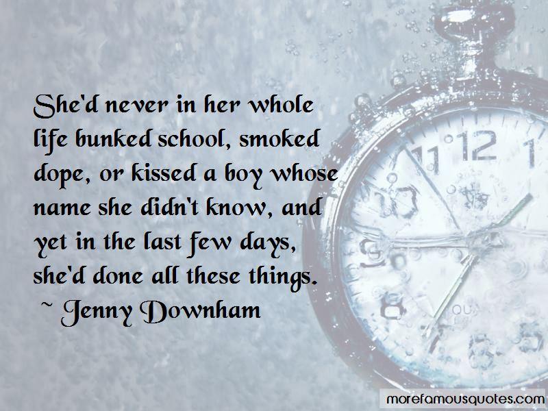 Last Few Days Of School Quotes