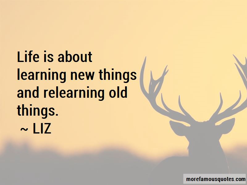 Learning And Relearning Quotes