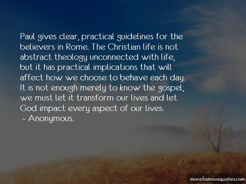 Life Guidelines Quotes