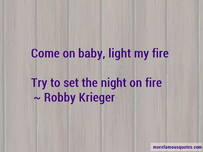 Light My Fire Quotes