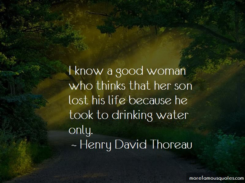 Lost A Good Woman Quotes