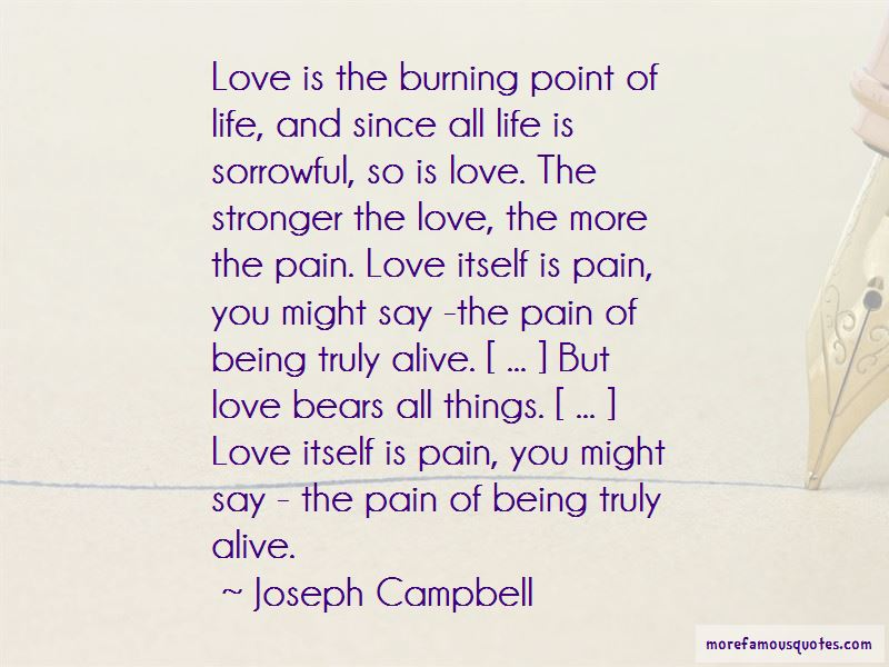 Love Bears All Things Quotes Pictures 4