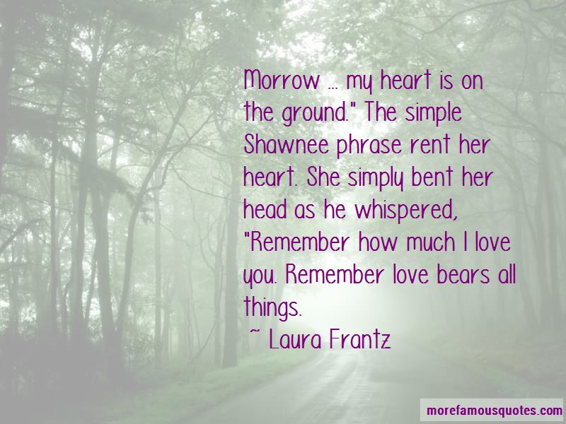 Love Bears All Things Quotes