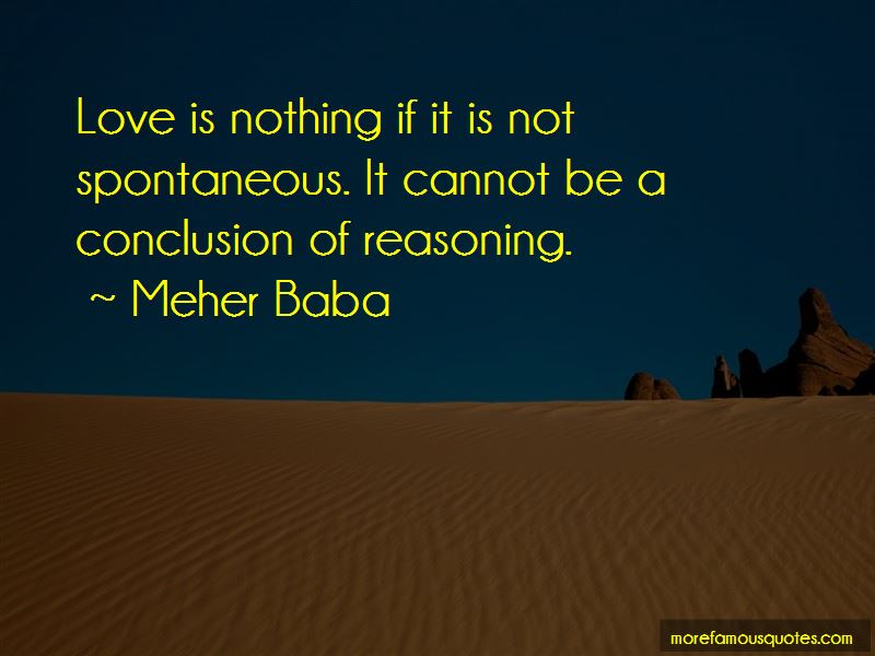 Love Is Nothing Quotes