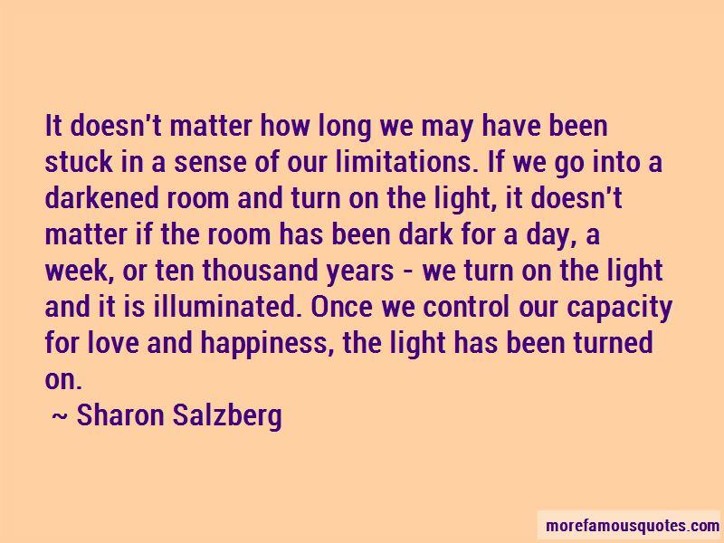 Love Limitations Quotes