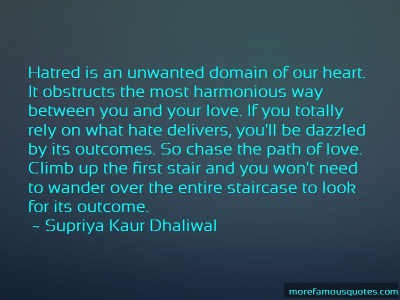 Love Staircase Quotes
