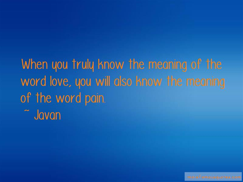 the wrongful use of the meaning of the word love