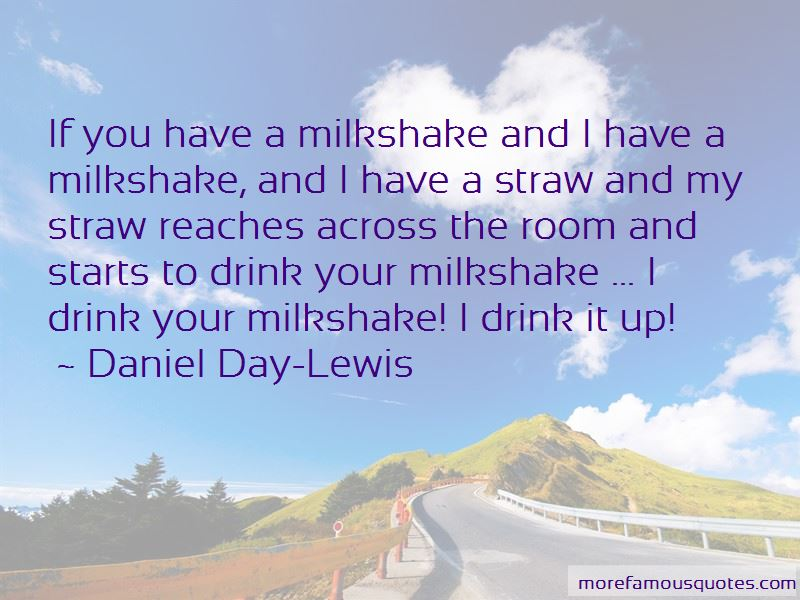 Milkshake Quotes