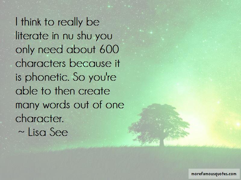 Mo Shu Quotes