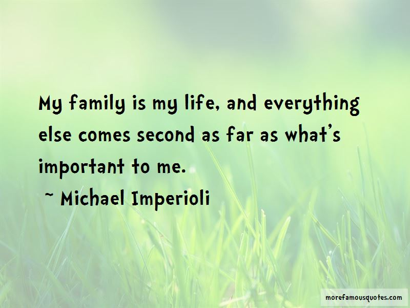My Family Is My Quotes
