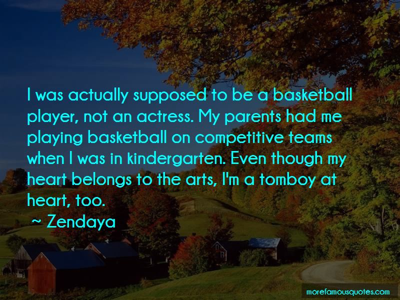 My Heart Belongs To A Basketball Player Quotes