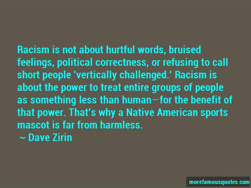 Native American Mascot Quotes