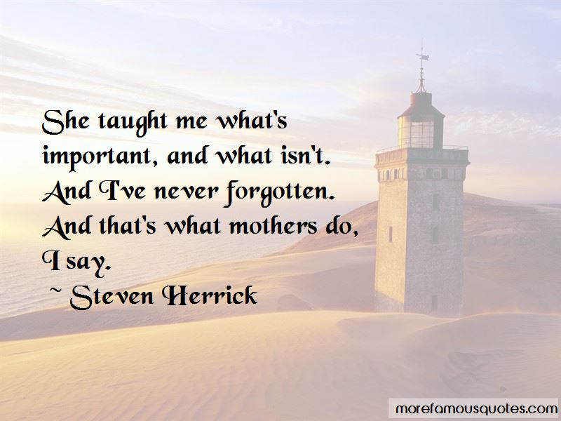 Never Forgotten Quotes