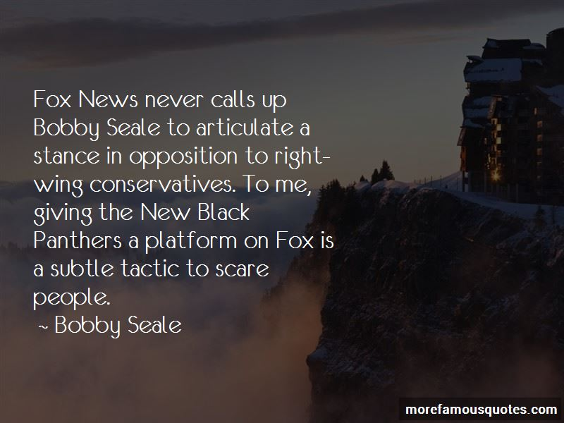 New Black Panthers Quotes
