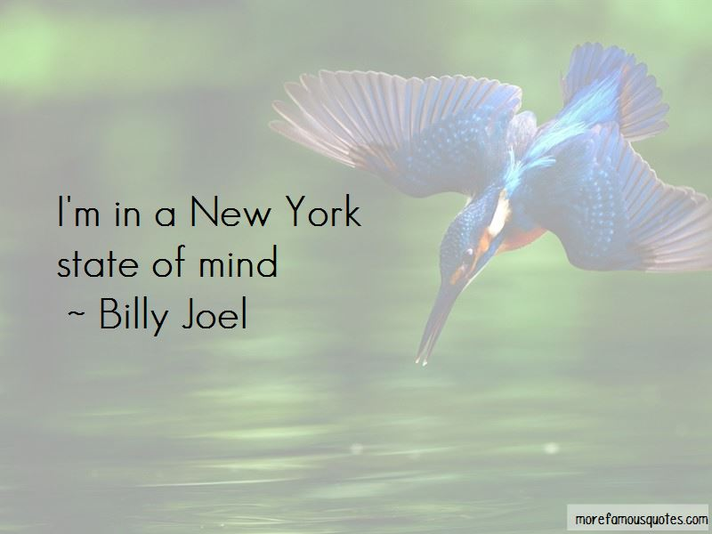 New York State Of Mind Quotes