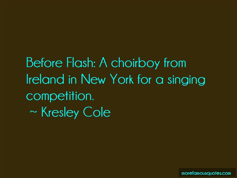 No Choirboy Quotes