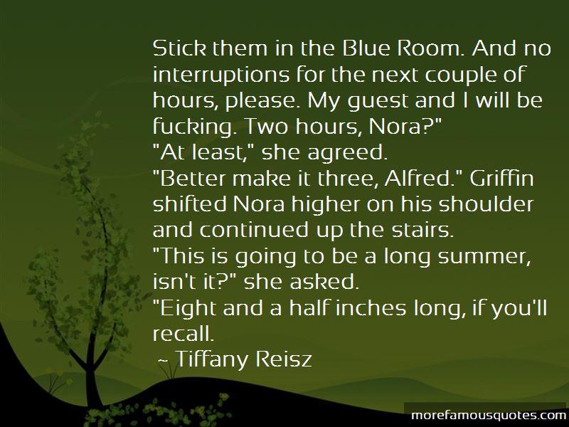 No Interruptions Quotes