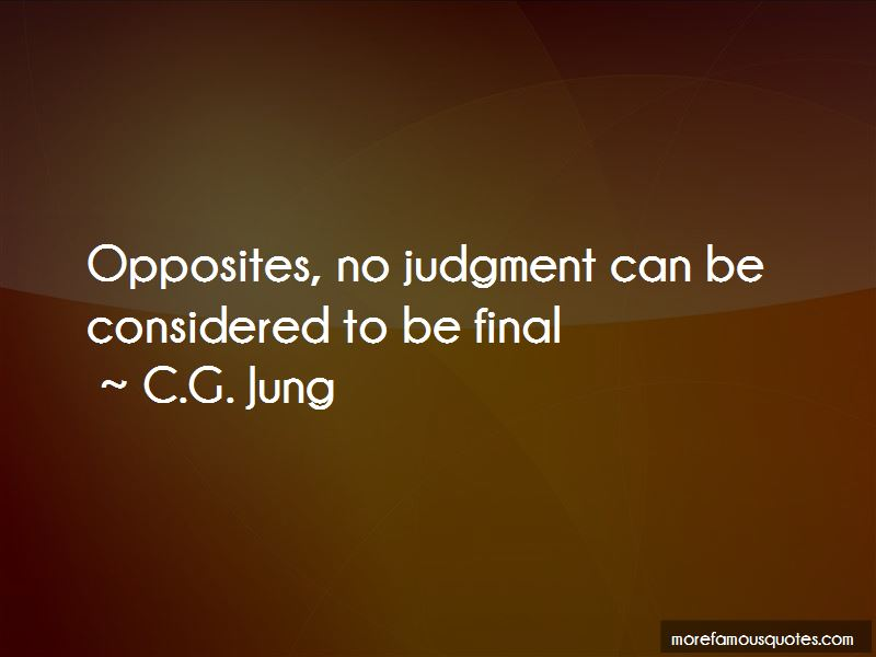 No Judgment Quotes