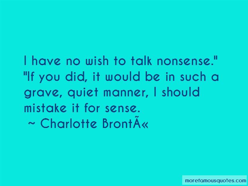 No Wish Quotes