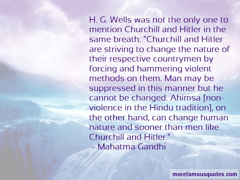 Non-violence Ahimsa Quotes Pictures 2