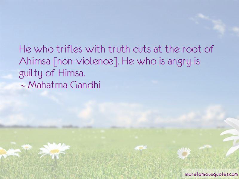 Non-violence Ahimsa Quotes
