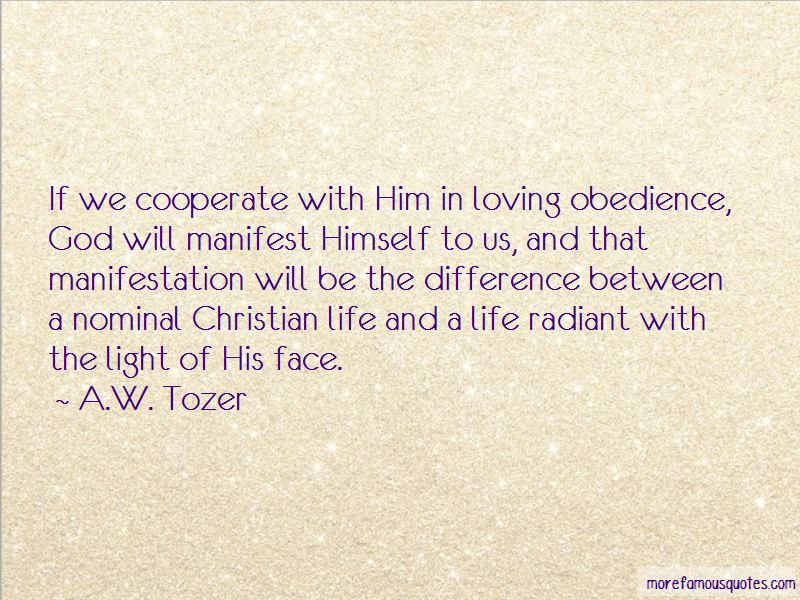 Obedience God Quotes