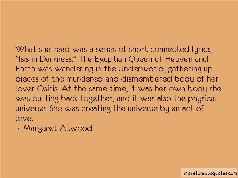 Osiris And Isis Quotes Pictures 3