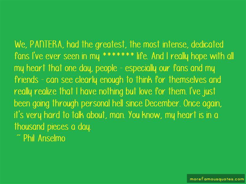 Pantera Life Quotes