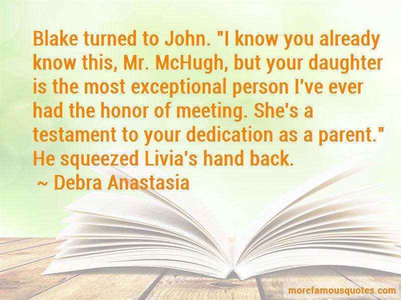 Parent Dedication Quotes