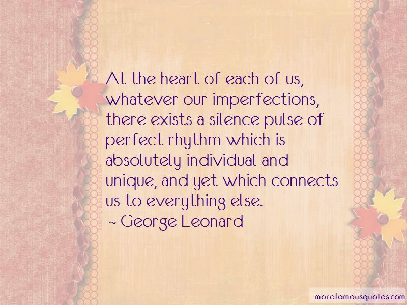 Perfect In My Imperfections Quotes