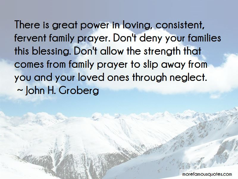 Power Of Family Prayer Quotes: top 6 quotes about Power Of ...