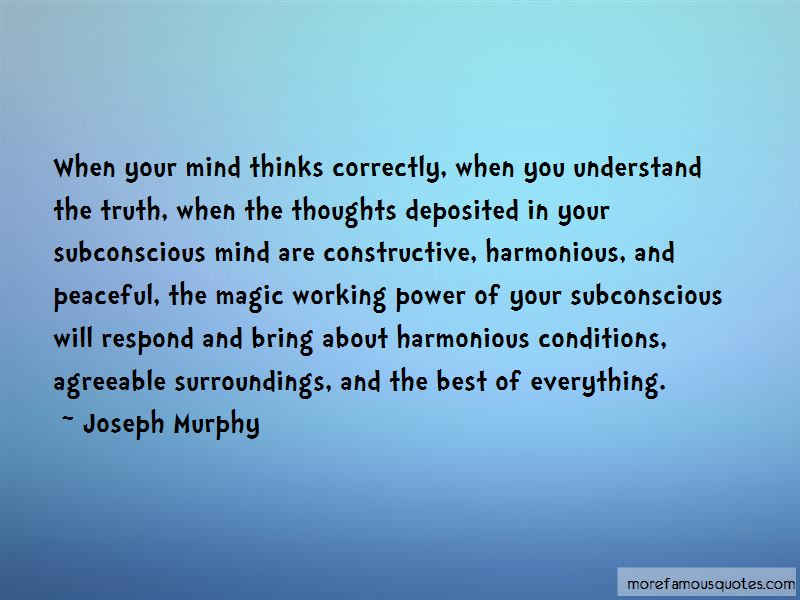 Power Of Subconscious Mind Quotes Pictures 4