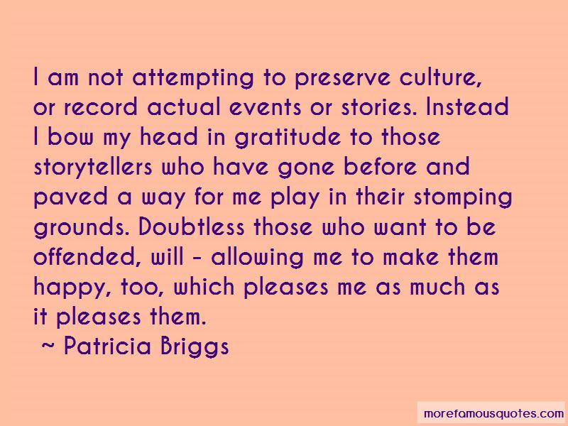 Preserve Culture Quotes