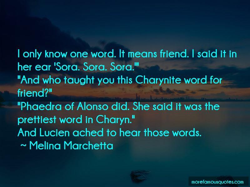 Prettiest Friend Quotes