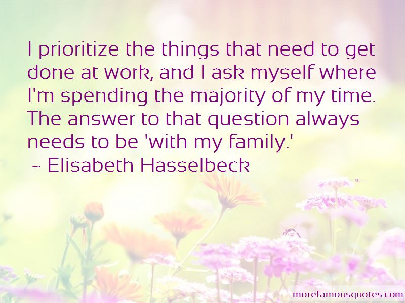 Prioritize Family Quotes
