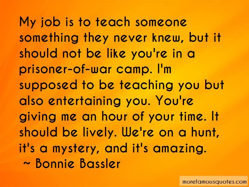 Prisoner Of War Camp Quotes