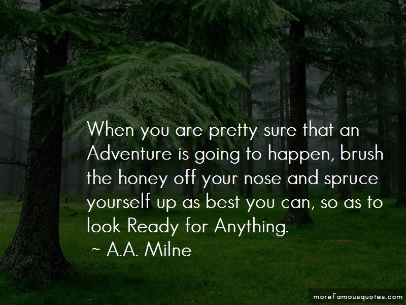 Ready For Anything Quotes