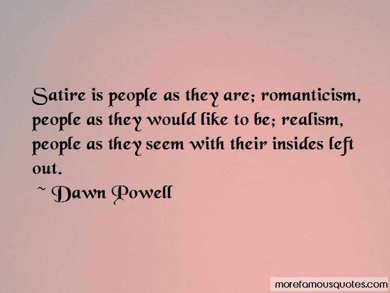 Realism Vs Romanticism Quotes Pictures 3
