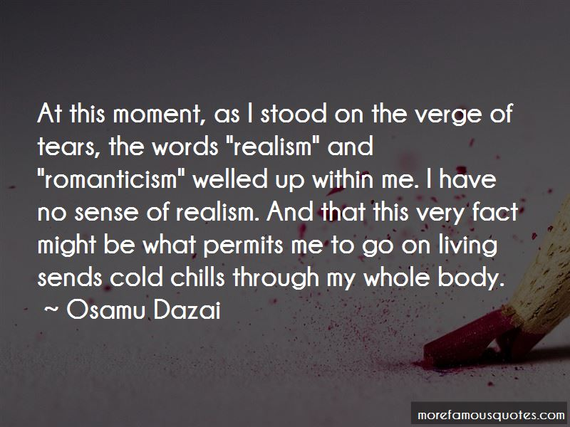 Realism Vs Romanticism Quotes Pictures 4