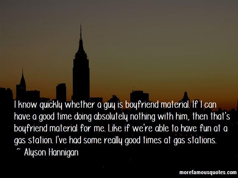 Really Good Boyfriend Quotes