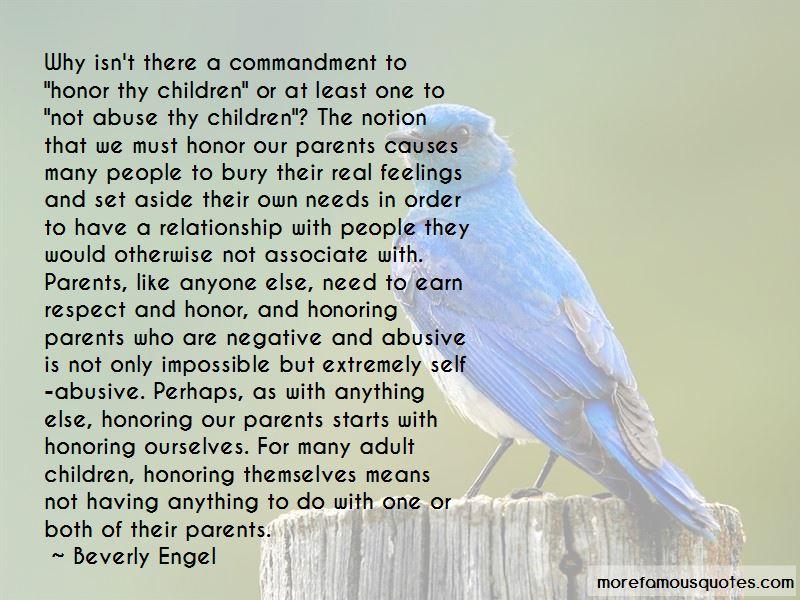 Respect Thy Parents Quotes