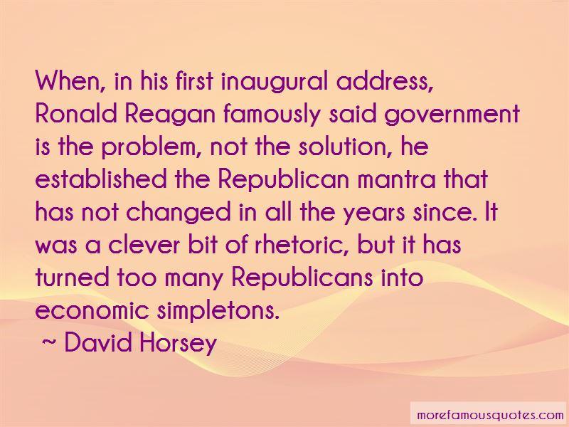 Ronald Reagan First Inaugural Address Quotes