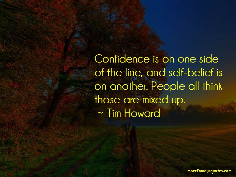 Self Confidence One Line Quotes