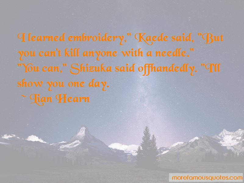 Shizuka Quotes Top 1 Quotes About Shizuka From Famous Authors There was a shared sigh as the boys ran off behind radley, thanking god for not killing. famous quotes