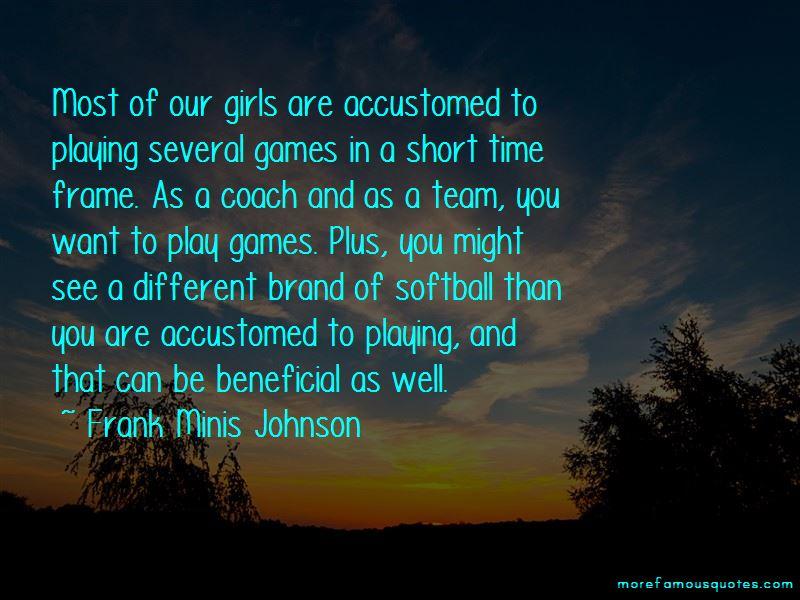 Short Softball Team Quotes