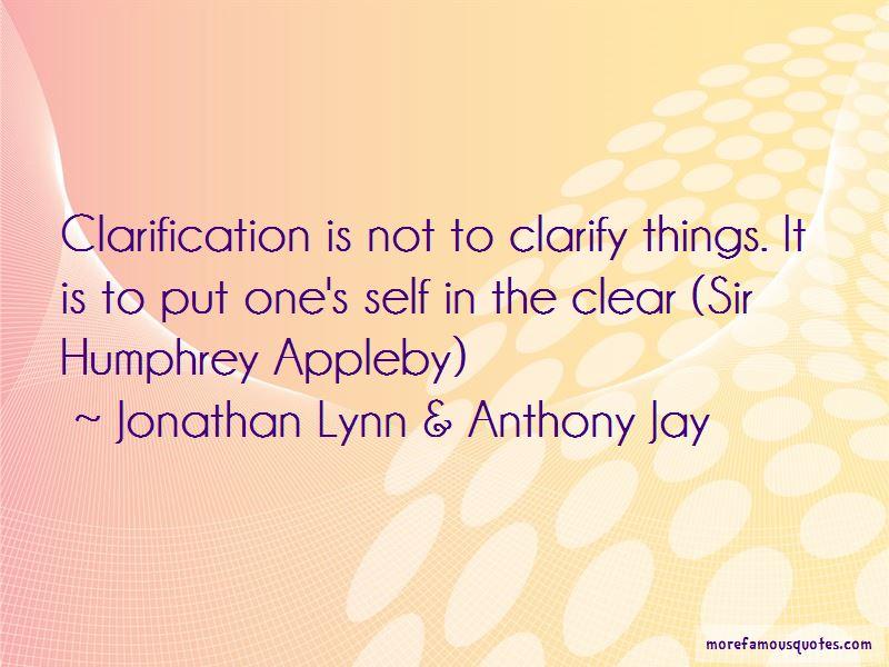 Sir Humphrey Appleby Quotes