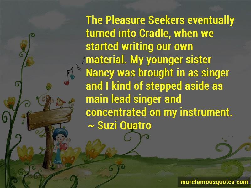 Sister Nancy Quotes