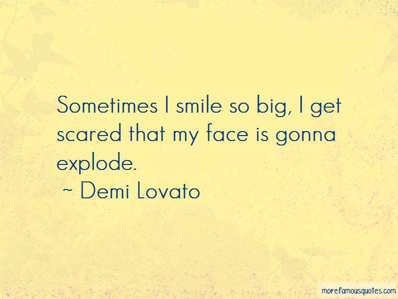 Smile So Big Quotes