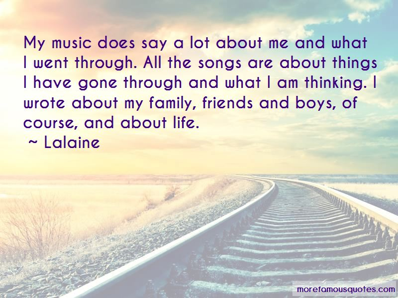 Songs And Friends Quotes