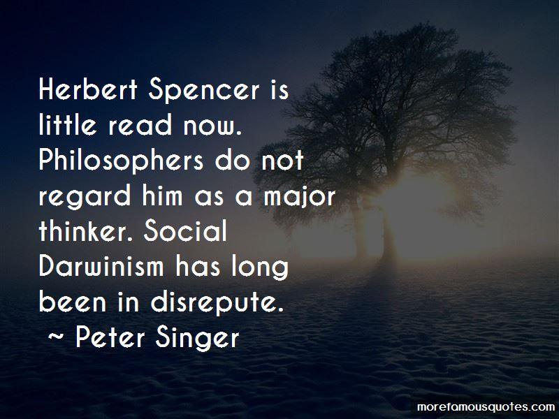 herbert spencer and social darwinism